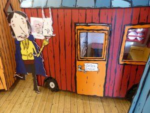 Cirkusdirektörens vagn